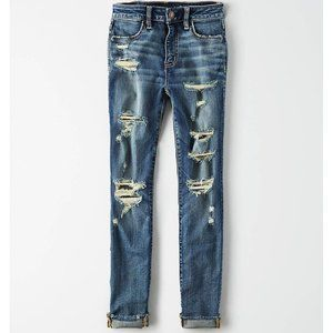 American Eagle High Waisted Jegging Crop